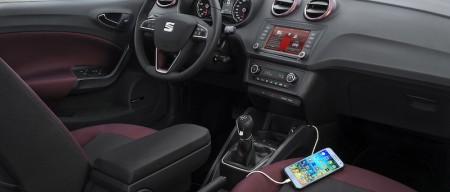 Seat Ibiza 2015: sistema Full Link con compatibilidad Android Auto y Apple CarPlay