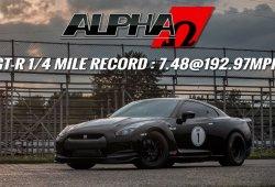 AMS Alpha Omega GT-R, 2.000 CV para batir todos los récords