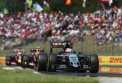 Force India investiga la rotura del alerón de Nico Hulkenberg