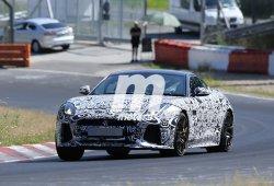 El Jaguar F-Type SVR asoma la cabeza otra vez