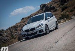 Prueba BMW 216d Gran Tourer: Comportamiento y conclusiones