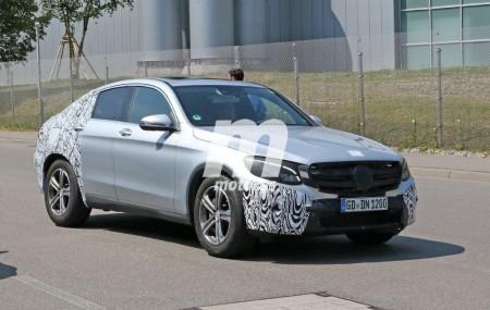 Mercedes GLC Coupé, en sus primeras fotos espía