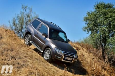 Mitsubishi Montero 3 Puertas Kaiteki: Exterior e interior (II)