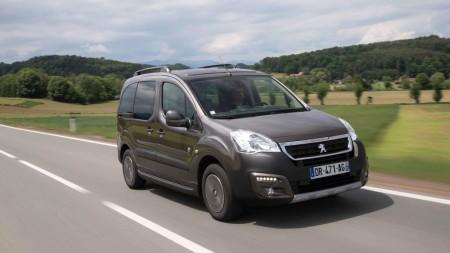 Peugeot Partner Tepee Outdoor, ahora con motor BlueHDi de 100 CV