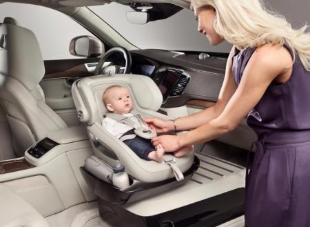 Volvo XC90 Excellence Child Seat Concept, máximo lujo para el más pequeño de la casa