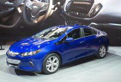 El Chevrolet Volt 2016 homologa 85 km de autonomía eléctrica