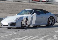 Porsche 911 Coupé y Cabrio 2016, al desnudo antes de su presentación