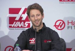 Romain Grosjean, primer piloto oficial de Haas F1