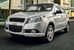 México - Agosto 2015: El dominio del Chevrolet Aveo llega a su fin