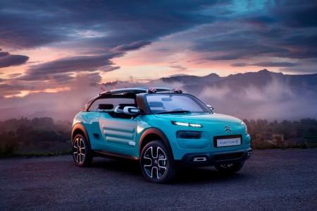 Citroën C4 Cactus M, un espíritu libre va camino de Frankfurt