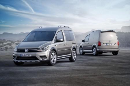 Volkswagen Caddy Alltrack, novedad en Frankfurt