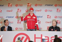 Esteban Gutierrez, piloto oficial de Haas F1