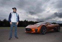 Felipe Massa somete al Jaguar C-X75 de Spectre