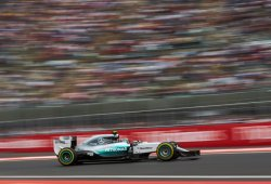 Rosberg deja a Hamilton sin pole en México