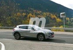 Exclusiva: El Infiniti QX30 2016 cazado en España