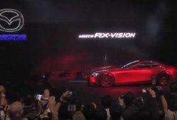 Presentación en vídeo del Mazda RX-VISION