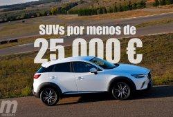 Los SUV que podemos comprar por menos de 25.000 euros (Parte II)