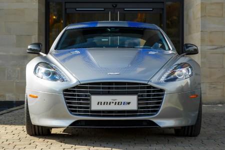 Aston Martin desarrollará el RapidE (eléctrico) con capital chino