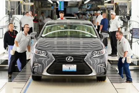 Lexus ya fabrica los ES en Estados Unidos