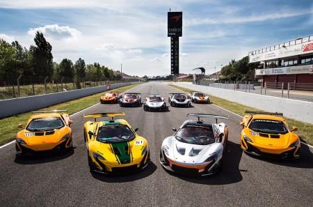 La McLaren P1 GTR Driver Programme arrancó en el Circuito de Montmeló