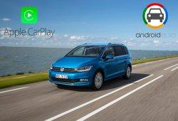 Android Auto y Apple Carplay integrados en el Volkswagen Touran