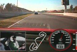 Así es una vuelta al Circuito de Montmeló con el Audi R8 Plus 2015