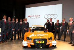 Audi mantiene su nómina de pilotos en el DTM 2016