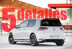 5 detalles que debes conocer del Volkswagen Golf GTI Clubsport