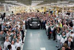 Fabricado el primer Bentley Bentayga