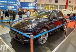Espectacular el Porsche Macan de Hamann  de carrocería ensanchada desde Essen