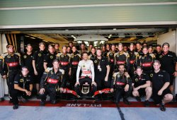 Romain Grosjean se despide de Lotus en los puntos