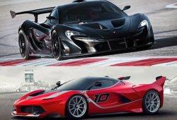 McLaren P1 GTR y Ferrari FXX K, así suenan estos dos superdeportivos en circuito