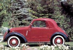 Rumores sobre el retorno del Fiat Topolino