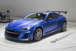 Subaru en el Salón Tokio 2016: trío de STI