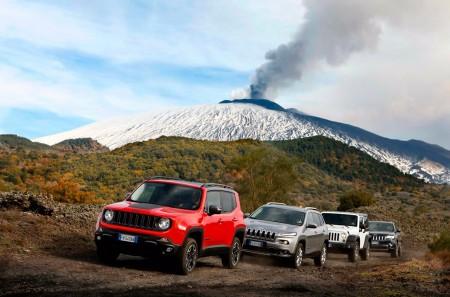 Jeep Experience Days, objetivo llegar al volcán Etna