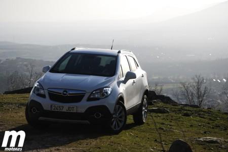 Prueba Opel Mokka 1.6 CDTI 4x4. Motor, consumo y prestaciones