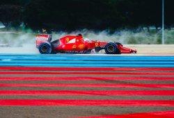 Vettel lidera una segunda jornada diferente de test de Pirelli en mojado