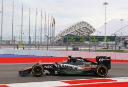 Force India molesto por no conocer la normativa de 2017