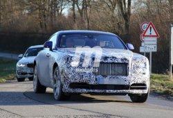 Fotos espía: Rolls Royce Wraith facelift