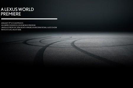 Lexus mostrará el LC 500 en Detroit 2016