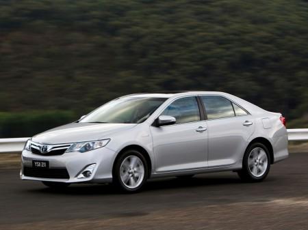 Australia - Diciembre 2015: El Toyota Camry da la sorpresa