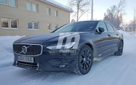 Volvo S90 R-Design, cazada la próxima berlina deportiva
