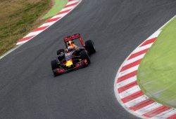 Alineación de pilotos en el segundo test de F1 en Barcelona