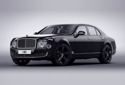 Bentley Mulsanne Speed Beluga Edition, más siniestro y elegante