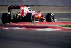 DÍA 4 de test F1 en Montmeló: Räikkönen manda, Mercedes asusta y Alonso sufre