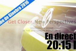 Ginebra 2016: sigue en directo la Volkswagen Group Night