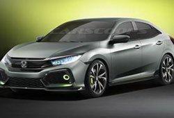 Honda Civic Concept, adelantando el nuevo Civic cinco puertas