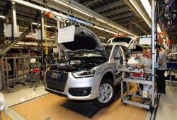 La producción de coches en España crece un 1% en Enero 2016