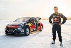 Sébastien Loeb con Peugeot en el Mundial de Rallycross