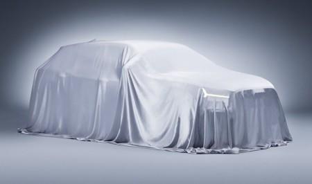 El Audi Q1/Q2 se oculta bajo la lona en sus primeras imagenes oficiales